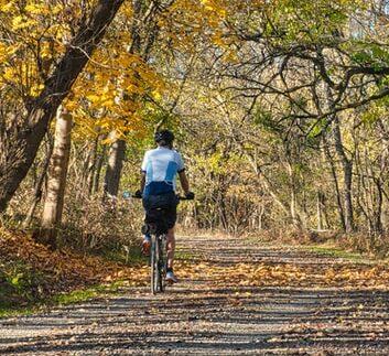 G. A network of biking/hiking trails